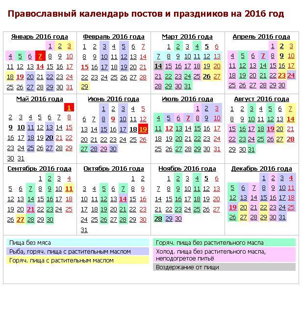 Православный календарь на октябрь на каждый день